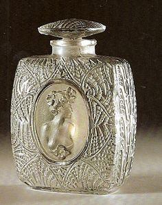 Fougeres -bottle Lalique