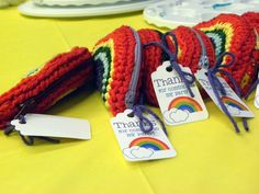 402 Center Street Designs: Rainbow Party Favors