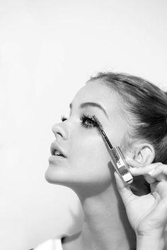 Uzun ve Hacimi Doğal Kirpikler #eyelasher #makeup #long #volume #curler #naturel