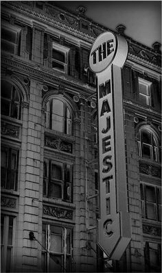 the majestic theatre, downtown dallas, texas.