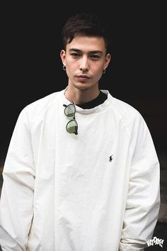 Sen Mitsuji Style for Men's Sen Mitsuji, Asian Men Hairstyle, Boys Like, Comme Des Garcons, Beautiful Boys, Male Models, How To Look Better, Street Wear, Men Casual