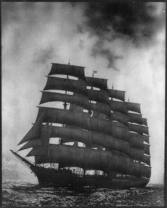 The Five Mast Full Ship