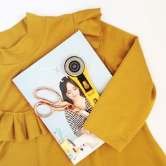 Mustard Yellow Tilly and the Buttons Freya Dress