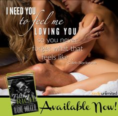 Dynasty Series, Filthy Rich, Alpha Male, Usa Today, I Need You, Book 1, Bestselling Author, Strong Women, Rain