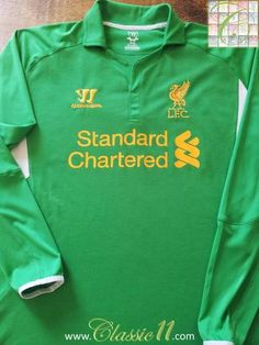 93c0ffd85 2012 13 Liverpool Goalkeeper Football Shirt (M)