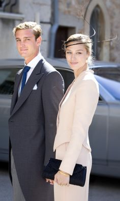 Posted on September 21, 2013 by HatQueen........Beatrice Borromeo and her longtime partner, Pierre Casiraghi, attended the wedding of Prince Felix of Luxembourg and Claire Lademacher.
