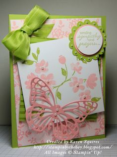 Stampin' By The Bay: I Love Lace and Painted Petals