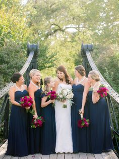 We're smitten with this wedding: http://www.stylemepretty.com/missouri-weddings/2015/02/23/traditional-ballroom-wedding-10/ | Photography: Jordan Brittley - http://jordanbrittley.com/