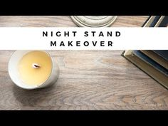 Learn with Fearless DIY how to makeover a nightstand using liming wax for a whitewashed finish and chalk pain with antiquing/sealing wax. Waxing Painted Furniture, Stripping Furniture, Diy Furniture Renovation, Furniture Makeover, Nice Furniture, Plywood Furniture, Modern Furniture, Furniture Design, Furniture Painting Techniques