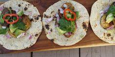 Spiced PlantainTacos - BrokeAss Gourmet - I would make enchiladas in mole