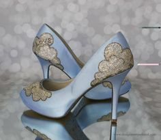 Ginger Zee's (Good Morning America Meterologist) Custom Wedding Shies