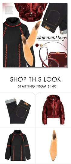 """Statement Bags"" by svijetlana ❤ liked on Polyvore featuring Paul by Paul Smith, Ivy Park, Alexander McQueen and statementbags"
