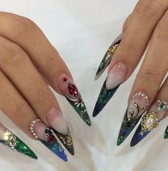 Nails worn earlier this year at a nail show by Kupa Star Educator Ann Chang! Check out our products at www.kupainc.com