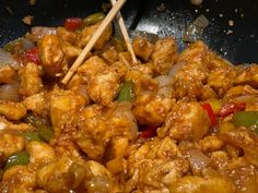 Chinese Food, Pork, Chicken, Sweet, Ethnic Recipes, Indian, Sweets, Kale Stir Fry, Candy