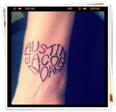 names tattoo 3