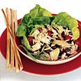 Mediterranean Chicken Salad Recipe...a favorite! Found it's best served at room temperature and after it has sat for a day to let the flavors meld together.