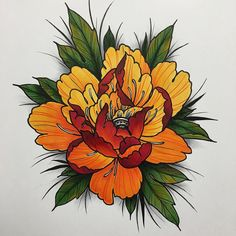 Перегляньте цю світлину в Instagram від @art.drawings_m • Вподобання: 1,906 Japanese Flower Tattoo, Japanese Flowers, Japanese Tattoos, Tatoo Designs, Flower Tattoo Designs, Asian Flowers, Oriental Flowers, Rose Tattoos, Body Art Tattoos