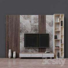models: Other - TV Zona 25 unit Design Tv Unit Decor, Tv Wall Decor, Wall Tv, Tv Cabinet Design, Tv Wall Design, Tv Wanddekor, Tv Unit Furniture Design, Tv Furniture, Modern Tv Wall Units