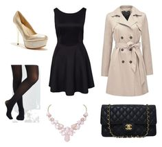"""Lovely London"" by maxine128 ❤ liked on Polyvore featuring Forever New, GUESS by Marciano, Chanel and Humble Chic"