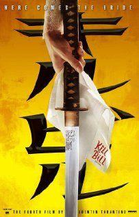 Kill Bill: Vol. 1.  Very entertaining...in a weird, twisted way :-/