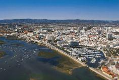 Vista aérea de Faro