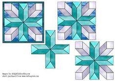 Stained Glass Mandala 6