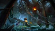 Disneyland concept by Lin Bo