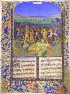 The Tower - The Battle between the Romans and the Carthaginians by Jean Fouquet. Used in the actual Carnivale intro.