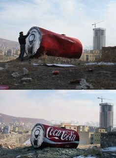 Iran president Mahmoud Ahmadinejad declared a ban on key American companies like Coca-Cola? Icy And Sot have coke for you In Tabriz, Iran