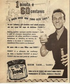Ana Caldatto : Vidros e latas antigas de Toddy