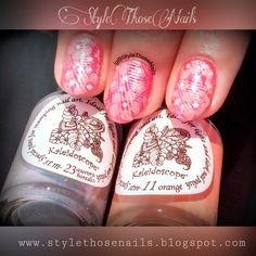 Style Those Nails: RakshaBandhan Special : Festive Double Stamping Nailart : El-Corazon stm-11 &stm-23