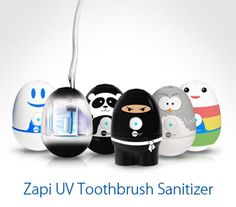 Violight Zapi Toothbrush Sanitizer - tell me you wouldn't want that ninja killing the germs on your brush!?