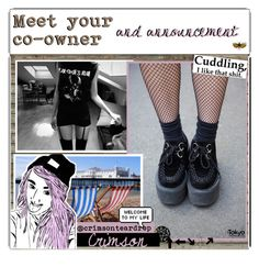 """""""Announcement/ 2nd owner"""" by outcast-tips ❤ liked on Polyvore featuring art, Annaot and myraot"""