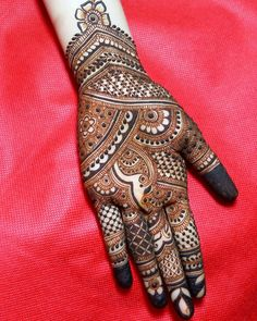 Photo By Amit Mehandi - Mehendi Artist Full Mehndi Designs, Mehandhi Designs, Indian Mehndi Designs, Mehndi Design Pictures, Mehndi Designs For Girls, Wedding Mehndi Designs, Beautiful Henna Designs, Henna Tattoo Designs, Mehndi Designs Bridal Hands
