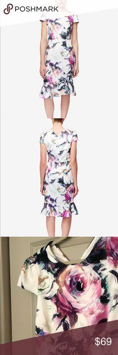 Betsey Johnson Floral-Print Ruffle-Hem Dress | Betsey johnson ...