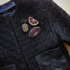 11 отметок «Нравится», 1 комментариев — Oksana (@artoksana) в Instagram: «#брошибисер #брошь #брошьизбисера #брошьукраина #бисер #beads #swetryk_ua #купуйукраїнське…»