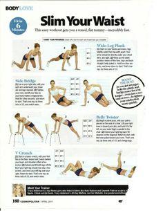 Slim your waist