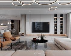 Enhance Your Senses With Luxury Home Decor Home Living Room, Interior Design Living Room, Living Room Decor, Painel Tv Sala Grande, Tv Feature Wall, Living Room Tv Unit Designs, House Design, Decoration, Art Decor