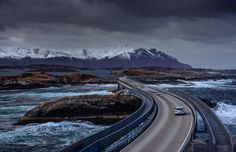Real life or Gran Turismo track? Norway is full of amazing landscapes, but nothing combines humanity and nature like the Atlantic Ocean Road. Built as a connection from the European mainland to a remote island, the road is breathtakingly pretty. Popular with automotive companies shooting commercials, the road looks equally real and unreal during the Norwegian summer. Motorists called this amazing road the world's best road trip destination in 2009.