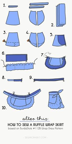 Ruffle Wrap Skirt - The Sewing Rabbit - Ruffle Wrap Skirt – The Sewing Rabbit Source by - Fashion Sewing, Diy Fashion, Fashion Dresses, Fashion Hacks, Jeans Fashion, Petite Fashion, Fashion 2018, Asian Fashion, Fall Fashion