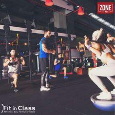 Günlük işlere koşturmaktan spora vaktiniz kalmıyorsa ZONE Fitness'ta katılacağınız grup dersleri sayesinde kendinize ayıracağınız 45 dakikada maksimum yağ yakımı ile dilediğiniz gibi fit, sağlıklı ve stressiz bir hayata kavuşabilirsiniz.  Zone Fitness'ın 3 şubesindeki grup derslerine Fit in Class'ın tek bir üyeliği ile katılabilirsiniz. www.fitinclass.com