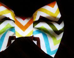 Baby Bow Tie, CHEVRON.