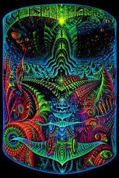 """Origin""Psychedelic fluorescent backdrop print on fabric. Excellent for Home decor, Studio, Party, etc. 3m x 4.5m (118"" x 177.16). | eBay!"