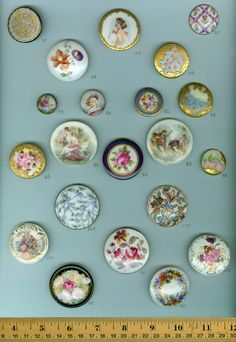 These would make gorgeous vintage jewelry pieces.
