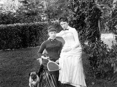 ALICE AUSTEN  Tennis  CA. 1893  Alice Austen House http://aliceausten.org/~austen/tennis-2
