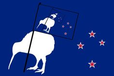 New Zealand is appealing to the public to design and vote on a new flag, and the results are as weird and wonderful as you'd expect New Zealand Flag, Bored At Work, Weird And Wonderful, No Response, Cool Designs, News, Drawings, Funny, Flags