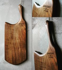 Handcrafted blacwalnut servingboard with handle.