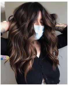 Rich Brunette Hair, Brunette Hair Color With Highlights, Cool Blonde Hair, Light Blonde Hair, Hair Highlights, Summer Hair Color For Brunettes, Rich Hair Color, Hair Color And Cut, Brown Hair Colors