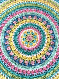249 Besten Mandalas Häkeln Bilder Auf Pinterest In 2019 Crochet