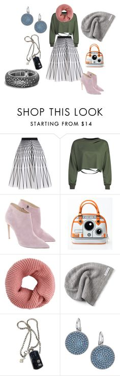 """""""Untitled #6434"""" by billyblaze ❤ liked on Polyvore featuring WithChic, Ralph Lauren, Converse, David Yurman and Swarovski"""